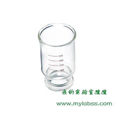 具刻度溶剂杯,47mm砝兰口